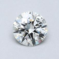 Recommended Stone #4: 0.75-Carat Round Cut
