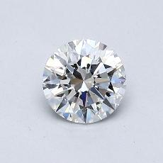 Recommended Stone #4: 0.52-Carat Round Cut
