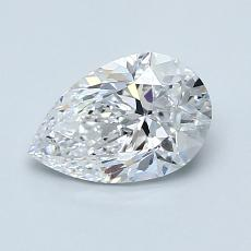 Recommended Stone #1: 1,01-Carat Pear Shaped
