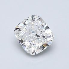 推薦鑽石 #4: 0.90 克拉墊形切割