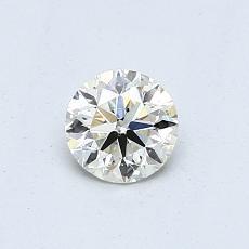 推薦鑽石 #1: 0.50  克拉圓形切割