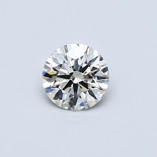 推薦鑽石 #1: 0.37  克拉圓形切割