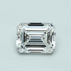 Recommended Stone #1: 0,70-Carat Emerald Cut