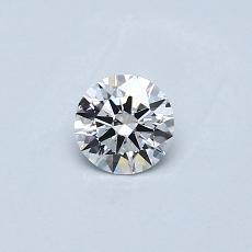 推薦鑽石 #2: 0.24  克拉圓形切割