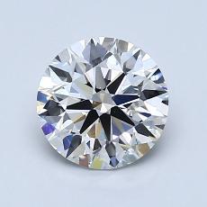 推薦鑽石 #1: 1.30  克拉圓形切割