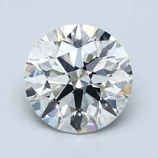 推薦鑽石 #3: 1.62  克拉圓形切割