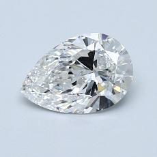 Recommended Stone #4: 0,80-Carat Pear Shaped