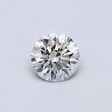 推荐宝石 3:0.38 克拉圆形切割