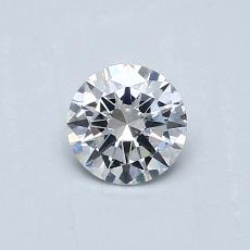 推荐宝石 3:0.41 克拉圆形切割