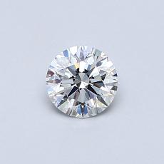 Recommended Stone #4: 0.40-Carat Round Cut