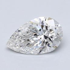 Recommended Stone #4: 1,00-Carat Pear Shaped