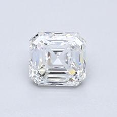 0.70-Carat Asscher Diamond Very Good E VVS1