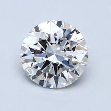 1.01-Carat Round Diamond Ideal F VVS2