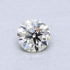 推荐宝石 2:0.50 克拉圆形切割