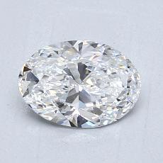 推薦鑽石 #1: 0.92  克拉橢圓形切割