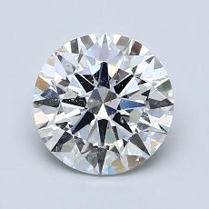 Recommended Stone #1: 1.50-Carat Round Cut