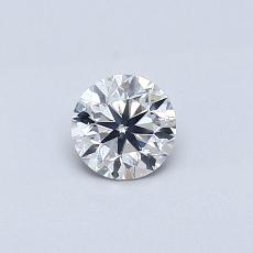 Recommended Stone #4: 0.37-Carat Round Cut