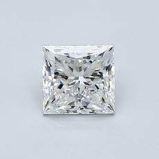Recommended Stone #1: 0.70-Carat Princess Cut