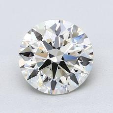 Piedra recomendada 4: Talla redonda de 1.40 quilates