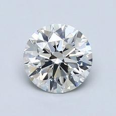 1.01 Carat 圆形 Diamond 理想 I SI2
