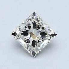 Recommended Stone #2: 1.00-Carat Princess Cut