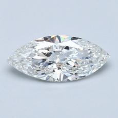 推薦鑽石 #4: 1.01 克拉欖尖形切割