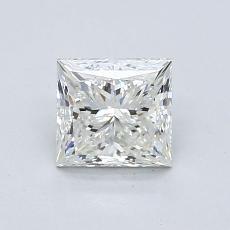 推荐宝石 1:1.00 克拉公主方型切割
