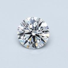 Recommended Stone #1: 0.52-Carat Round Cut