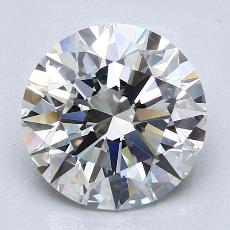 Recommended Stone #4: 2.71-Carat Round Cut