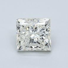 Recommended Stone #3: 1.00-Carat Princess Cut