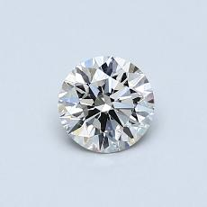 Recommended Stone #4: 0,50-Carat Round Cut
