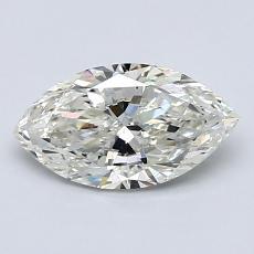 推薦鑽石 #4: 1.00 克拉欖尖形切割