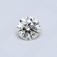 Recommended Stone #4: 0.34-Carat Round Cut