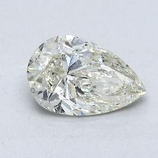 Recommended Stone #2: 1,00-Carat Pear Shaped