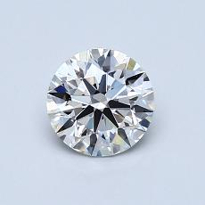 Recommended Stone #1: 0,73-Carat Round Cut