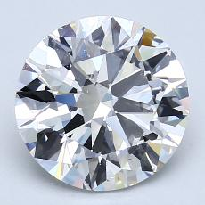 Recommended Stone #4: 2.81-Carat Round Cut
