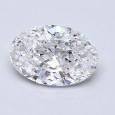 Recommended Stone #1: 2,02-Carat Oval Cut