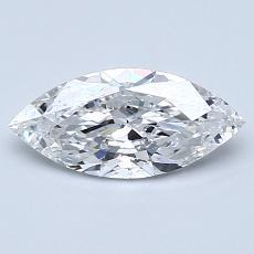 推薦鑽石 #1: 0.80 克拉欖尖形切割