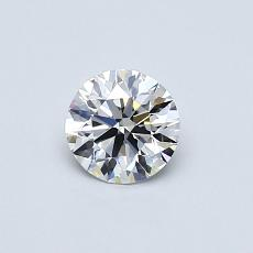 Recommended Stone #1: 0.44-Carat Round Cut