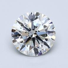 Recommended Stone #3: 1.38-Carat Round Cut