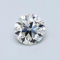 推薦鑽石 #3: 0.70  克拉圓形切割