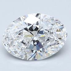 Recommended Stone #2: 2,02-Carat Oval Cut
