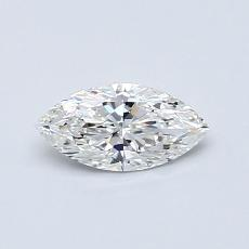 推薦鑽石 #2: 0.40 克拉欖尖形切割