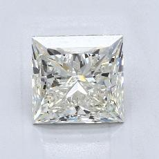 Recommended Stone #3: 2.10-Carat Princess Cut