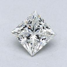 Recommended Stone #1: 0.75-Carat Princess Cut