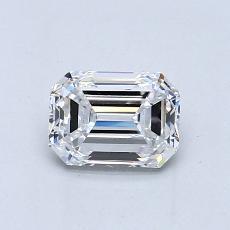 推薦鑽石 #2: 0.80  克拉綠寶石形切割鑽石