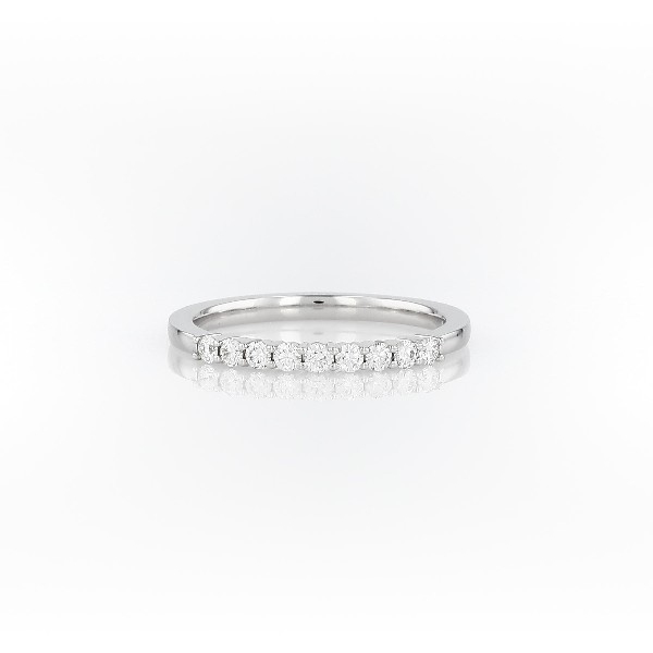 Petite Diamond Ring in 14k White Gold (0.2 ct. tw.)