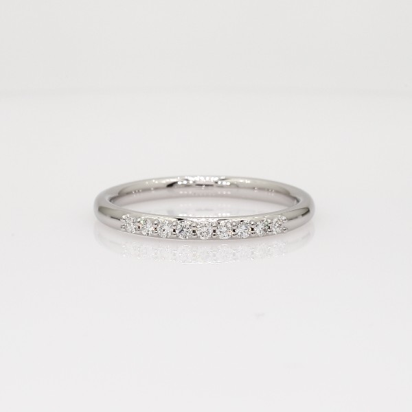 Petite Diamond Ring in 14k White Gold