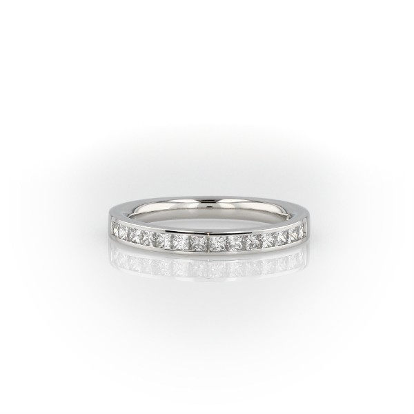 Channel-Set Princess-Cut Diamond Ring in Platinum (1/2 ct. tw.)