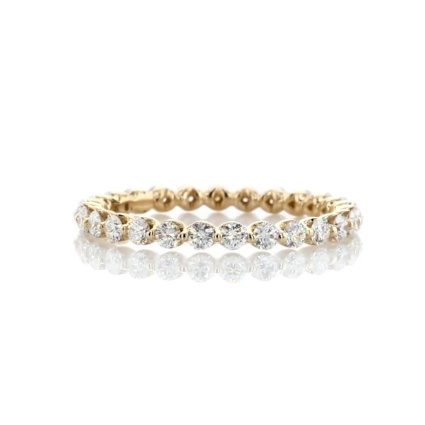 Floating Diamond Eternity Band in 14k Yellow Gold (3/4 ct. tw.)